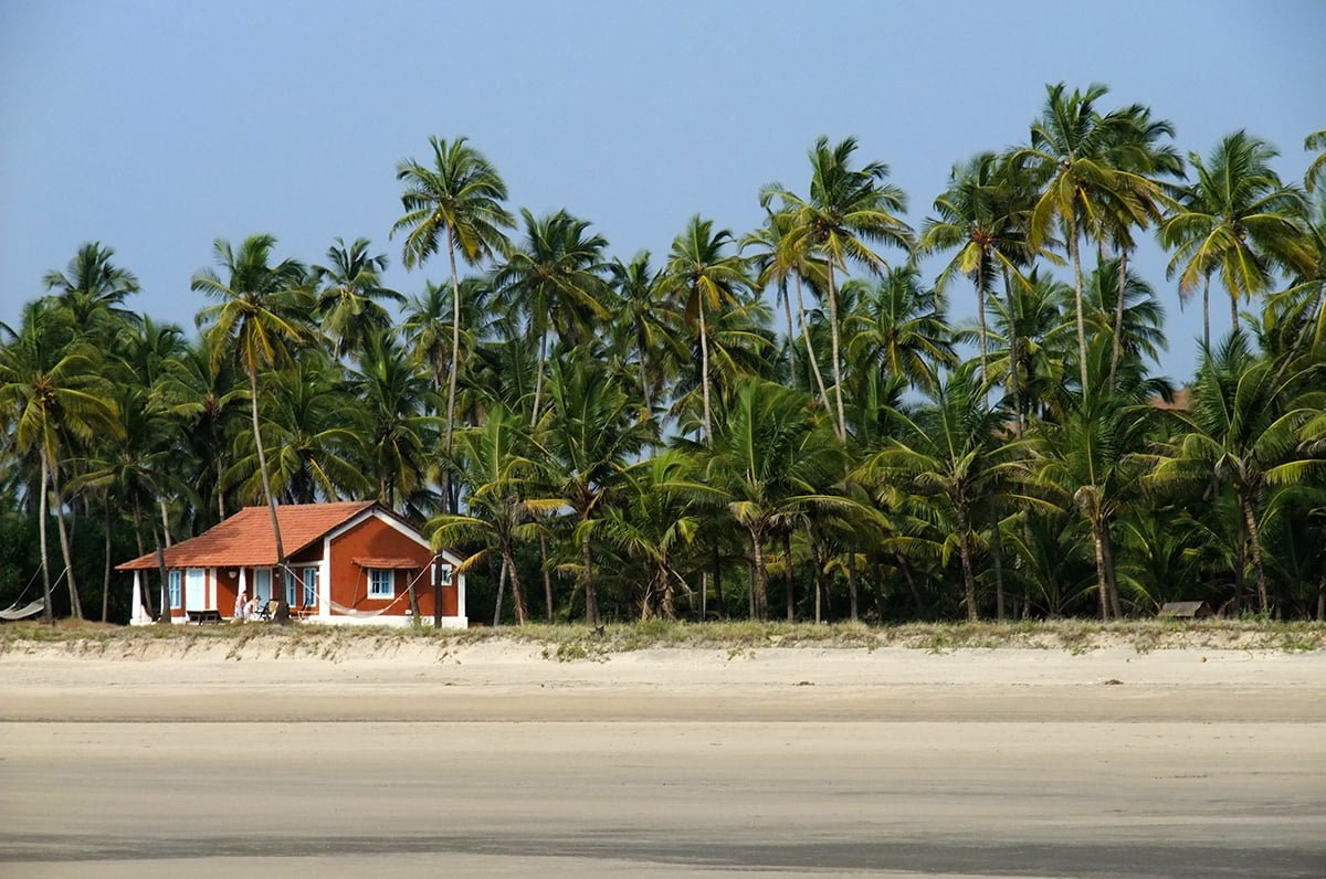 goa beach hut